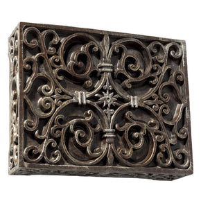 Teiber Carved Box - Renaissance Crackle CAB-RC