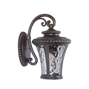 Exteriors Prescott II 1 Light Small Wall Mount Peruvian Bronze Z1254-112