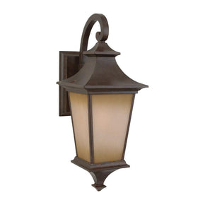 Exteriors Argent 1 Light Small Wall Mount  Z1304-98