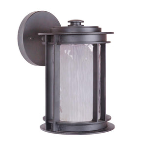 Exteriors LED Brentwood Small 1 light Wall Mount Lantern Z5404-92-LED