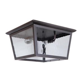 Exteriors Branbury Large Flush Mount Oiled Bronze Z5737-92