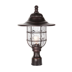 Exteriors Designer Fairmont 1 light Post Mount Z5825-88
