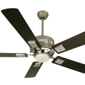 "Craftmade 5th Avenue 52"" Ceiling Fan W/Blades & Light Kit Brushed FA52BN5"