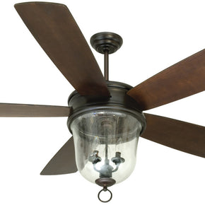 "Craftmade Fredericksburg 60"" Ceiling Fan W/ Blades & Light Kit FB60OBG5"