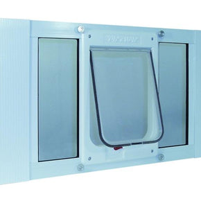 Ideal Pet Products Aluminum Sash Window Cat Flap - 27-32 Inches