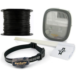 PetSafe Deluxe Little Dog In-Ground Fence With Essential Pet 18 Gauge Wire