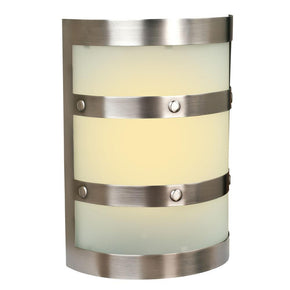 Teiber LED Contemporary Cylinder w/Frost Glass 2 Note Chime ICH1405-PT