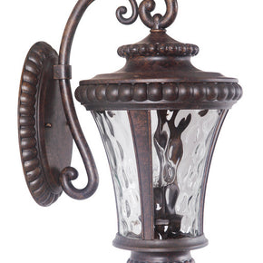 Exteriors Prescott II 2 Light Medium Wall Scone Peruvian Bronze Z1264-112