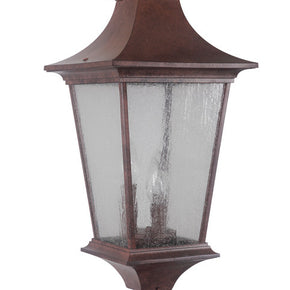 Exteriors Argent II Large Post Mount Aged Bronze Z1375-98