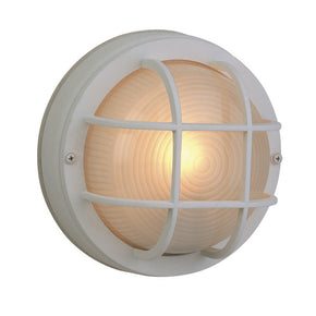 Exteriors Small Round Cast Ceiling Mount Z394