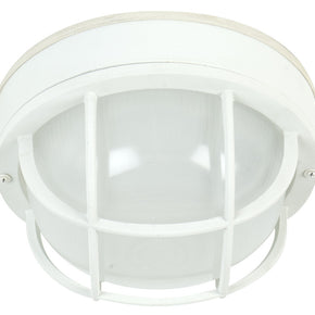 Exteriors Large Round Cast Ceiling Mount Z395