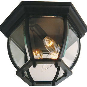 Exteriors Cast Aluminum 3 Lights Ceiling Mount Z433