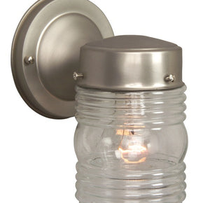 Exteriors Small Jelly Jar Wall Mount Z8110