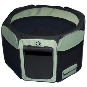 Travel Lite Soft-Sided Pet Pen - Large/Sage