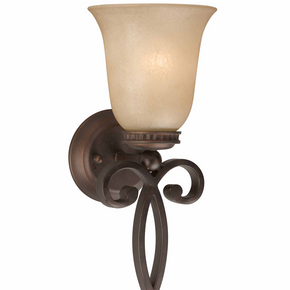Lumenno International Series 1003 1 Light Wall Sconce 1003-00-01