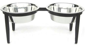 Visions Double Elevated Dog Bowl - Large