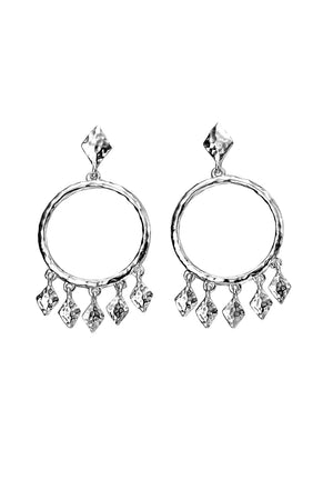 Round Chandelier earring