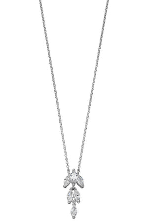CZ Marquise Necklace
