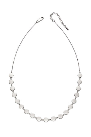 FLAT DISC COLLAR Necklace