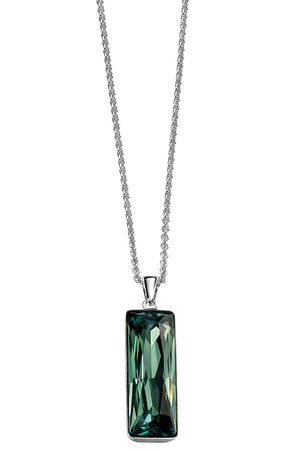 Swarovski Crystal Rectangle Pendant