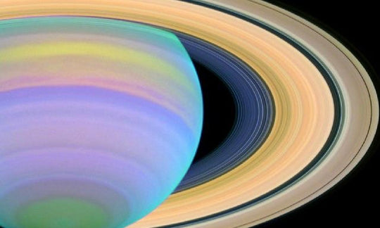Ultraviolet Image of Saturn – NASA