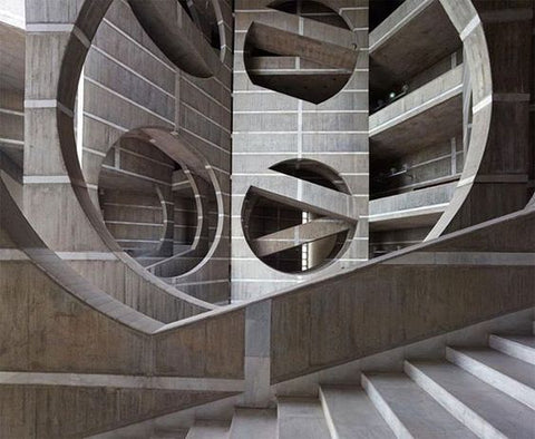 Louis Kahn National Assembly Building of Bangladesh