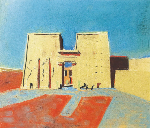 Louis Kahn Egypt Sketch