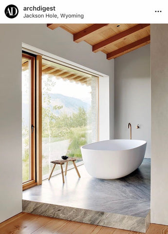 Architectural Digest Tub