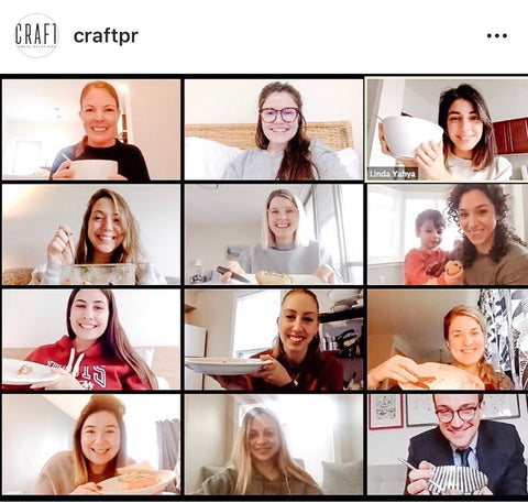 Craft PR – Zoom Meeting