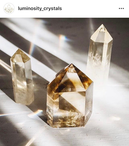 Crystals –  Luminosity Crystals