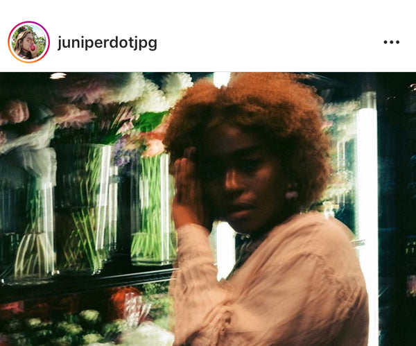 Photo of Enga from Juniper's Instagram