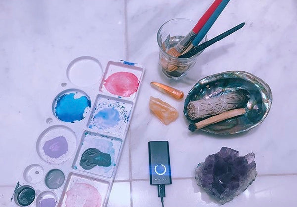 Lauren Rubin's photo of watercolors