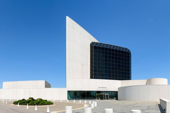 I.M. Pei Kennedy Memorial Library
