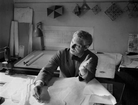 Louis Kahn, portrait