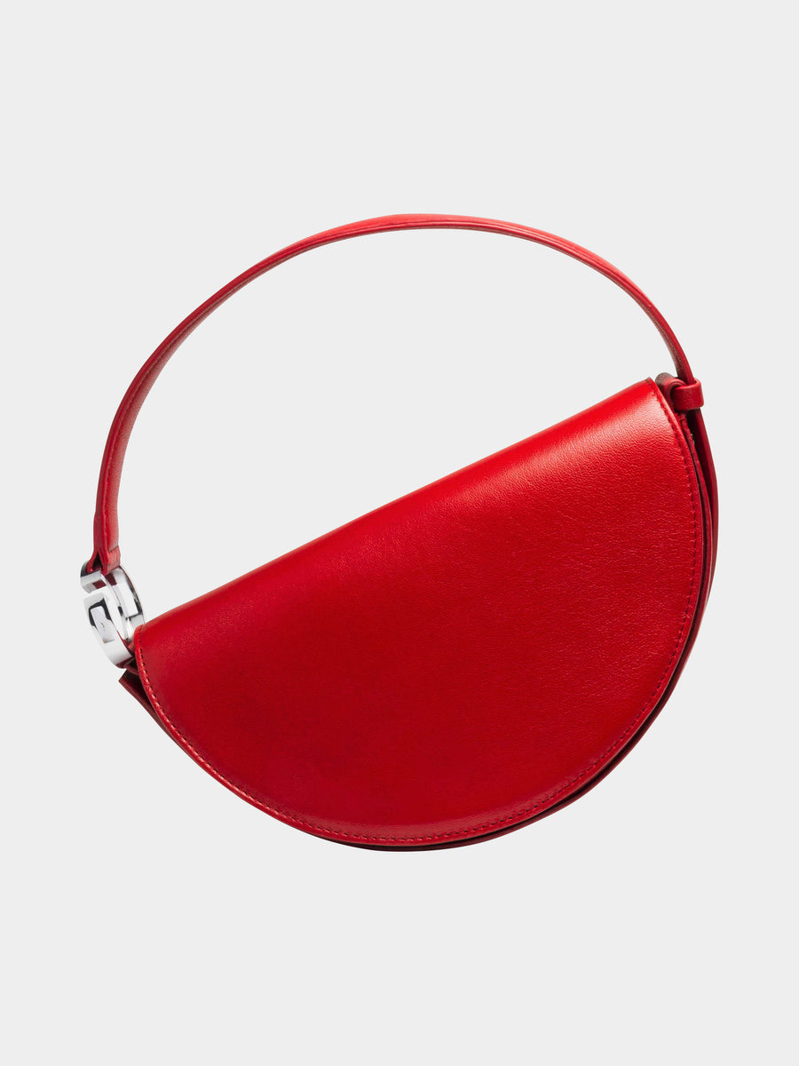 Dooz Aries Céleste leather handbag in color Red