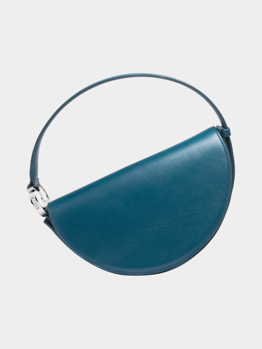 Dooz Cancer Céleste leather handbag in color Dark Teal