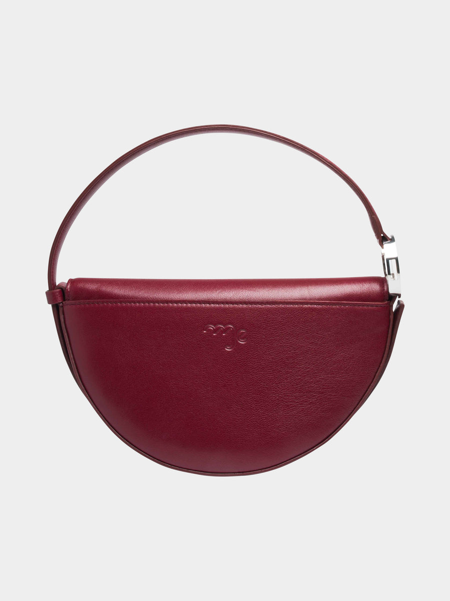 Virgo Celeste Bag in Burgundy back view