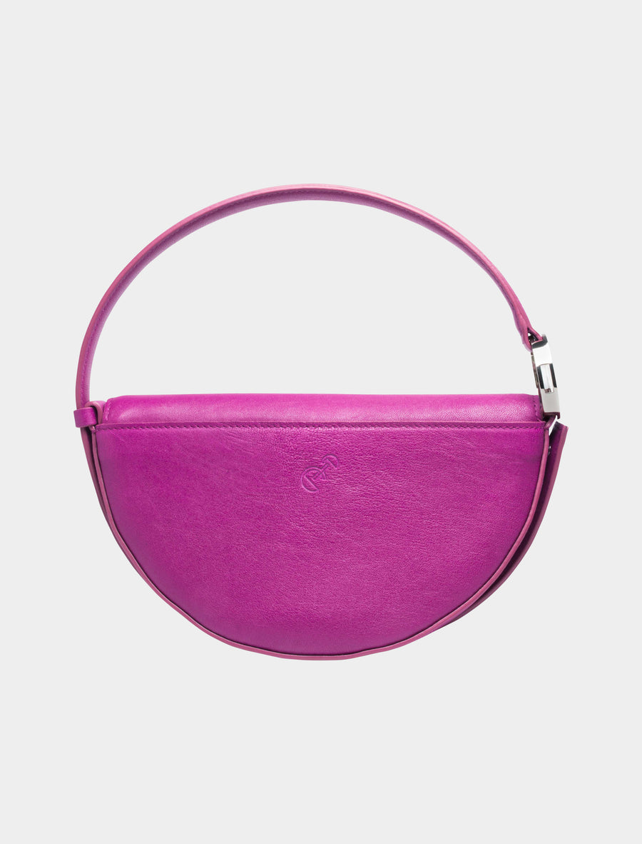 Sagittarius Celeste Bag in Fuchsia back view