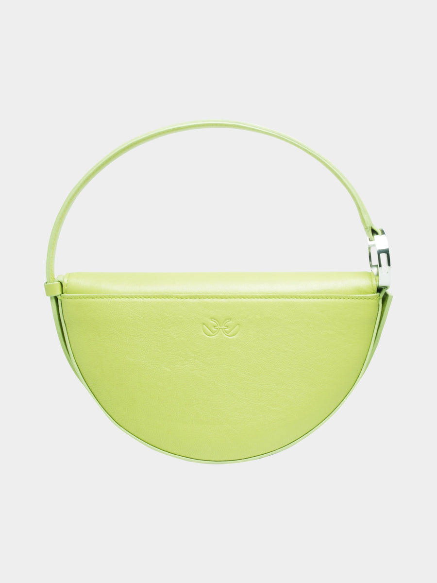 Pisces Celeste Bag in Lime back view