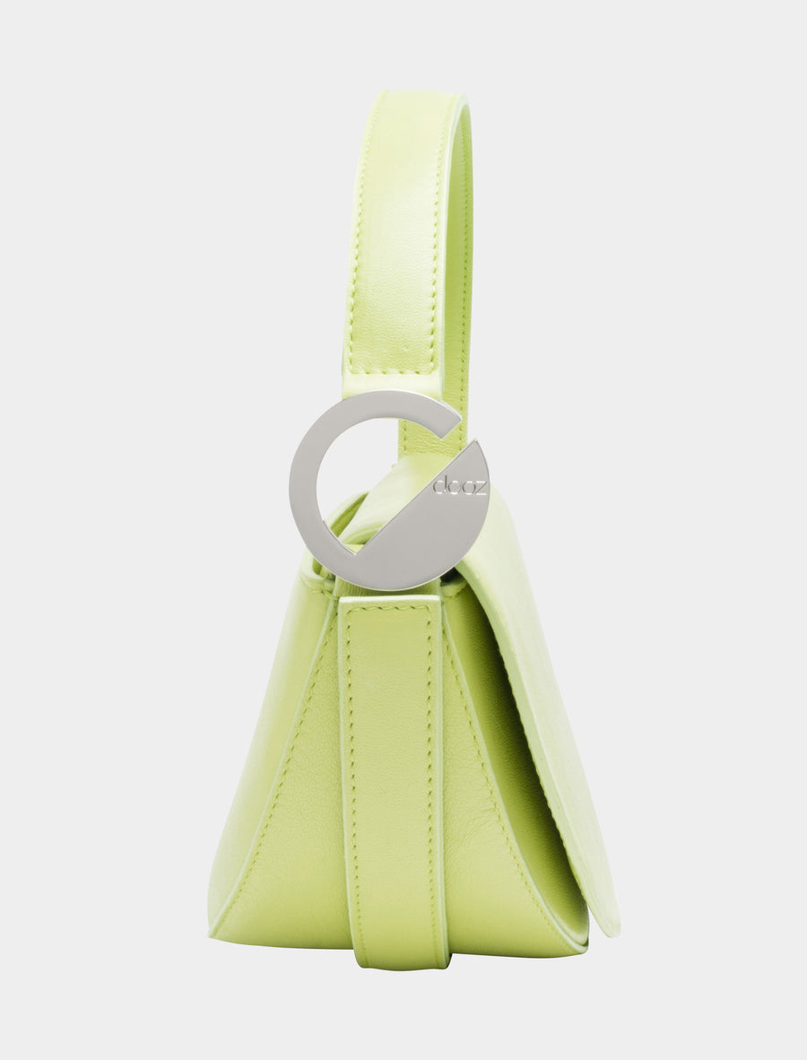 Pisces Celeste Bag in Lime side view