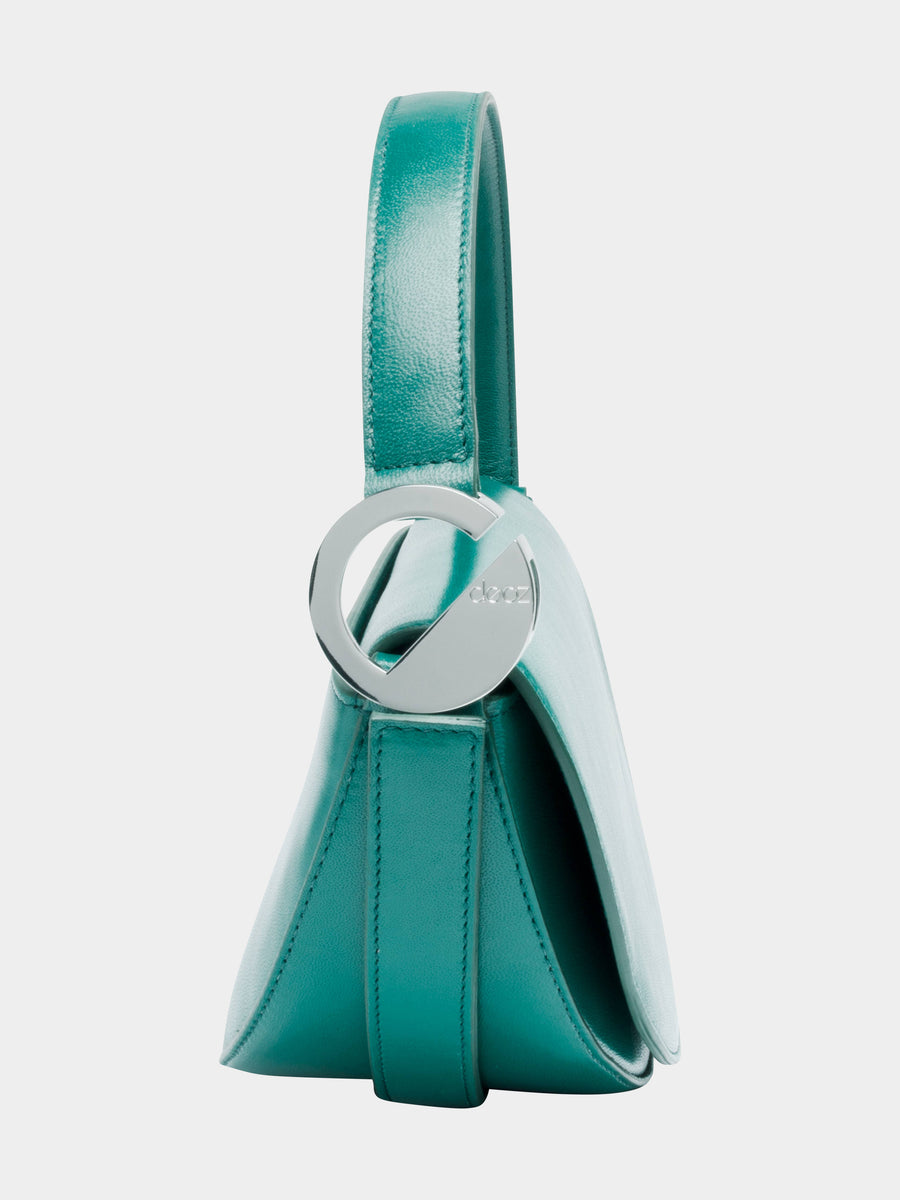 Taurus Celeste Bag in Green side view