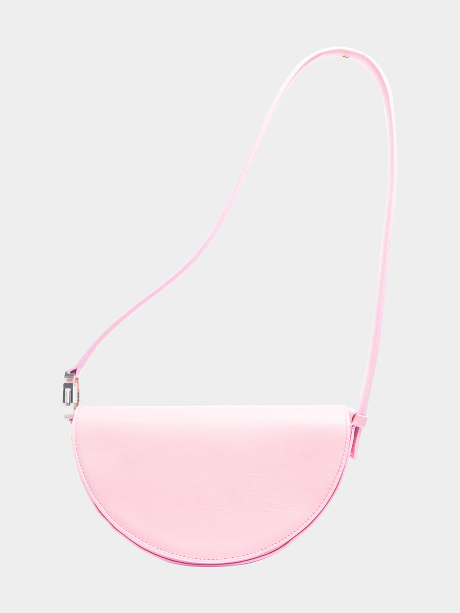 Dooz Libra Céleste leather handbag in color Blush (long strap)
