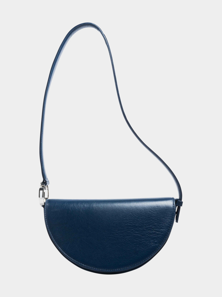 Scorpio Celeste Bag in Navy long strap