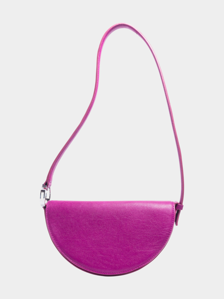 Sagittarius Celeste Bag in Fuchsia long strap