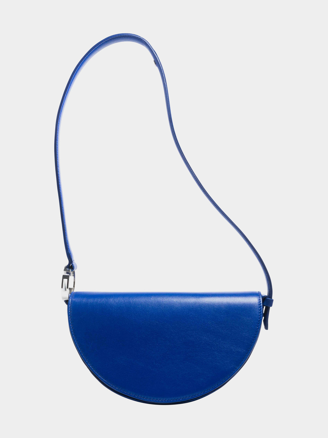 Dooz Aquarius Céleste leather handbag in color Cobalt (long strap)