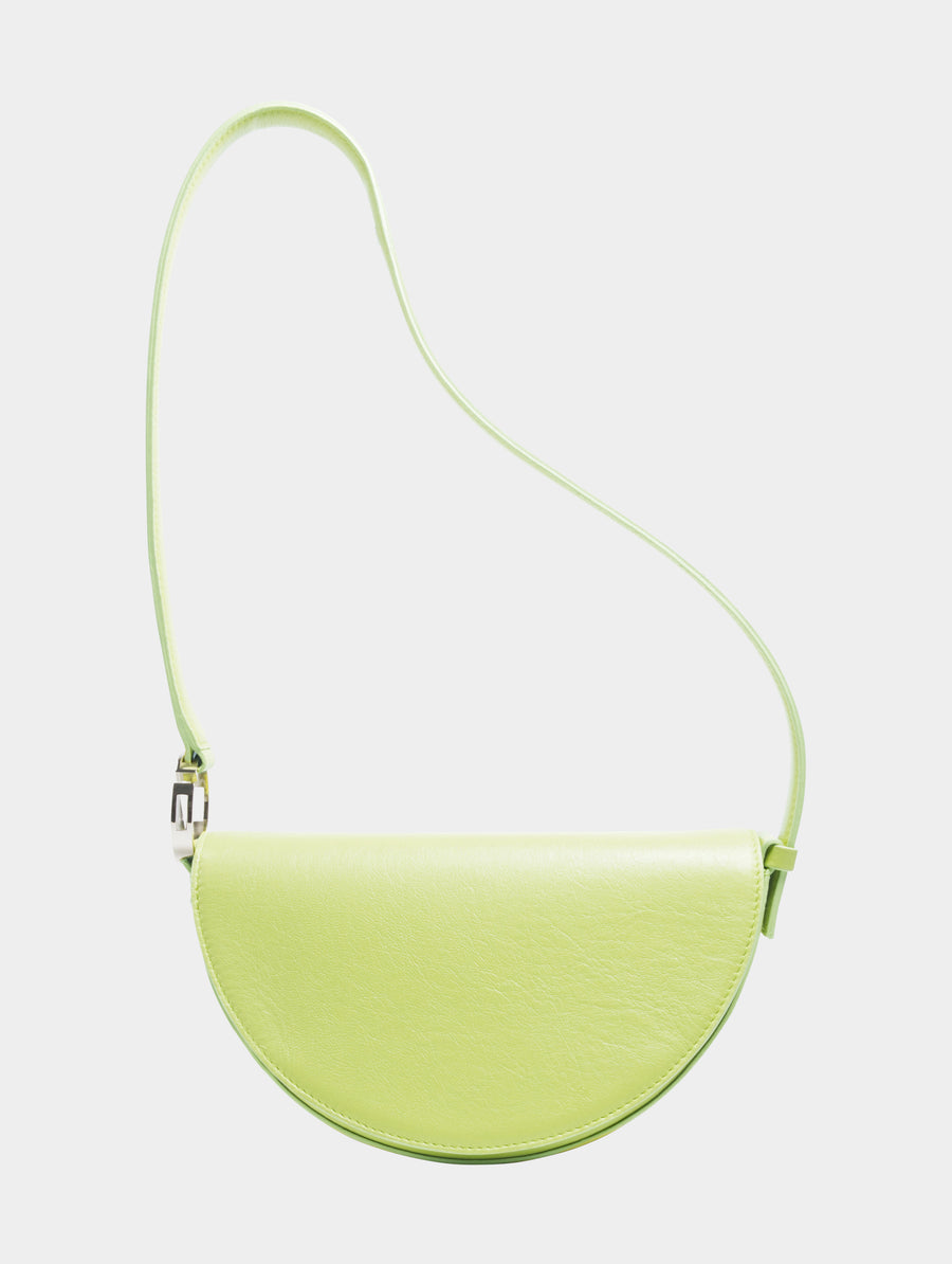 Pisces Celeste Bag in Lime long strap