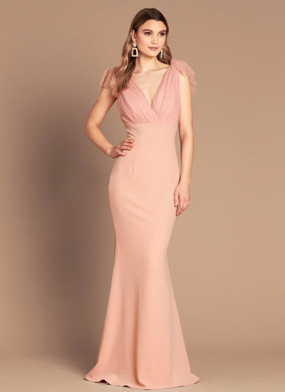 Love Honor LH1316 Sophia Tulle Gown PINK
