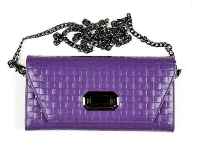 PSM P7101 Clutch Wallet PURPLE
