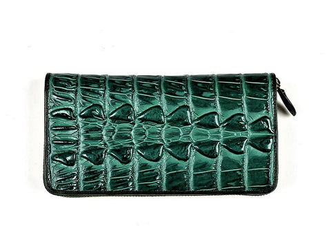 PSM P9325 Zip Wallet GREEN