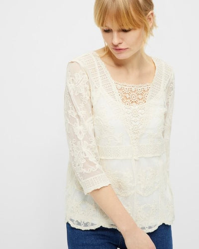 Cream 3011 Astid Blouse